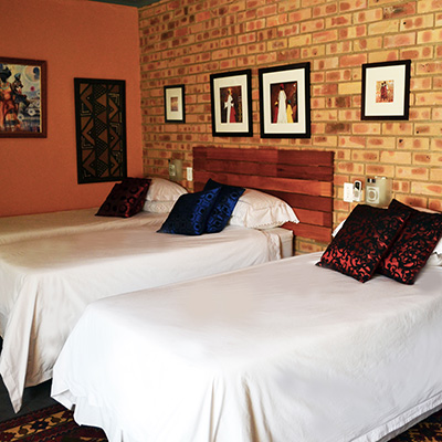 Triple Room at Boga Legaba Guest House and Conference Centre