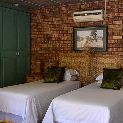 Twin room at Boga Legaba Guest House and Conference Centre